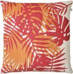 Chhatwal & Jonsson Chhatwal & Jonsson-Palm Putetrekk 50x50cm, Red/Jaffa Orange