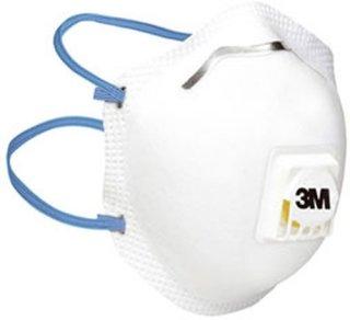 Støvmaske m/ventil FFP2