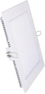 V-Tac V-Tac 8W LED panel downlight - Hull: 10,5 x 10,5 cm, Mål: 12 x 12 cm, uten driver - Lysfarge : Nøytral, Dimbar : Nei