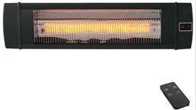 Carbon terrassevarmer med fjernkontroll
