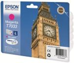 Epson T7033 - L-størrelse - magenta - original - blekkpatron (C13T70334010)