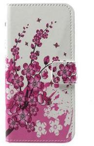 Huawei Honor 6A Style-serien Lommebok-deksel - Rosa Blomster