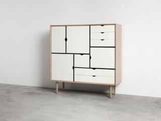 Andersen Furniture S3 Såpet Eik / Hvit