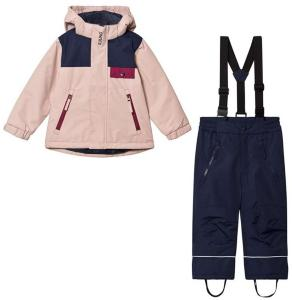 Kuling Aspen Ski Set Woody Rose/Deep Red/Navy