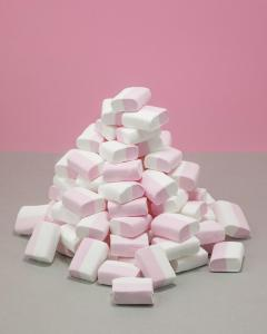 Sukkerfri Marshmallows Skumgodteri - Cubes 1kg