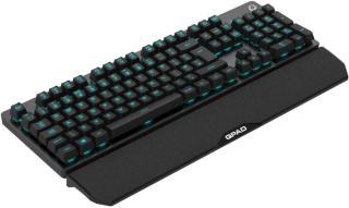 Voxicon Professional Gaming Pad Kablet Tastatur Svart