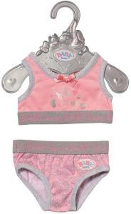 BABY Born Underwear 43cm - rosa undertøy til dukke
