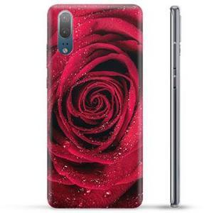Huawei P20 TPU-deksel - Rose