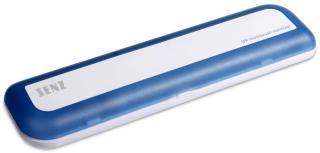SENZ REISERENSEBOKS FOR TANNBØRSTE MED UV-LYS (BLÅ)