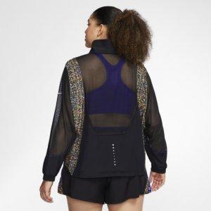 Nike Icon Clash løpejakke til dame (Plus Size) - Black 1X