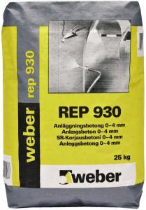 Weber REP 930 Anleggsbetong - 25kg