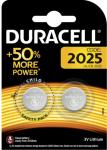 Duracell batteri CR2025 (2 stk) DUR2025TWIN