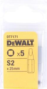Dewalt Bits firkant 25mm no2x5 dt7171 Dewalt