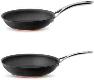 Meyer Nouvelle Copper 2 deler Stekepanne 30 cm & Stekepanne 20 cm