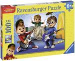 Ravensburger Puslespill Alvin Og Gjengen Spiller Musikk 100 Biter