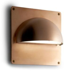 Rørhat Bakplate XL 30X30cm Rå Kobber - LIGHT-POINT