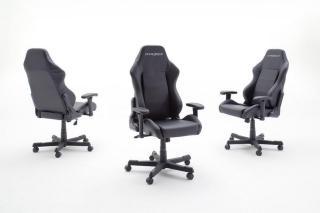 DX Racer DXRacer Gamingstol Svart - Svart