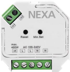 NEXA Boksdimmer ZV-9101 40–400 W R / 20–200 W RC, RL IP22
