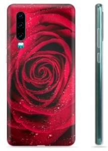 Huawei P30 TPU-deksel - Rose