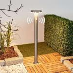 Solcelledrevet LED-veilampe Eliano med sensor