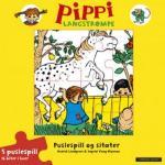 Pippi Langstrømpe Puslespillbok og sitater Astrid Lindgren {TYPE#Innbundet}