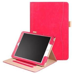 Retro Smart Folio-etui - iPad 9.7, iPad Air 2, iPad Air - Rød