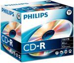 Philips 10 x CD-R - 700 MB (80 min) 52x - CD-eske (CR7D5NJ10/00)