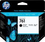 HP 761 matt svart/matt svart Designjet-skrivehode (CH648A)