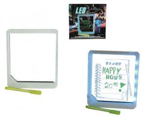 LED beskjed tavle med penn