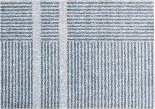 Løype Cloudy Grey dørmatte 60x85 cm Heymat