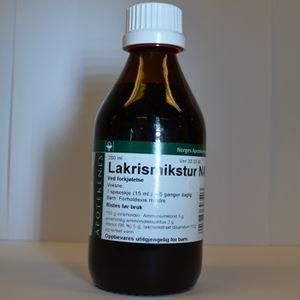 Lakrismikstur NAF Mikst 30 mg/ml/20 mg/ml/100 mg/ml | Hals