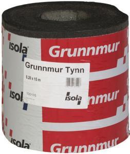 Isola Grunnmur Tynn 0,20x15m for bunnsvill, overgang grunnmur/vegg Isola