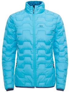 Elevenate Women's Motion Down Jacket, Aqua Blue, XL