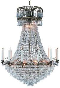 Läckö Taklampe 15 Lys Antikk Markslöjd