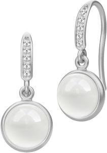 Julie Sandlau Luna Earring - Rhodium Øredobber Smykker Sølv Julie Sandlau Women