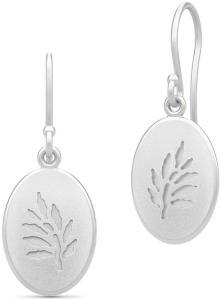 Julie Sandlau Classic Earrings - Rhodium Øredobber Smykker Sølv Julie Sandlau Women