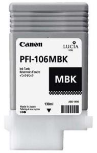 Canon PFI 106 MBK - Blekkpatron Matt svart 29952632