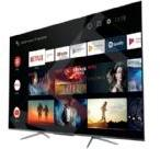 TCL 50C715 - 50 Klasse C715 Series QLED TV - Smart TV - Android TV - 4K UHD (2160p) 3840 x 2160 - HDR - Quantum Dot - børstet titanium metal