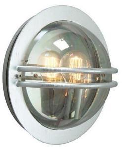 Norlys Bremen Vegglampe Galvanisert, Klar polykarbonat