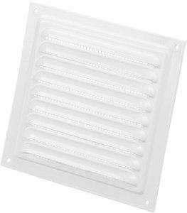 Duka Lamelldeksel - 125x125 mm, hvit