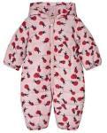 Stella McCartney Kids Pink Puddle vinterdress Ladybird Print 3 months