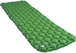 vidaXL Oppblåsbar luftmadrass 58x190 cm grønn