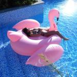 MikaMax Oppblåsbar flamingo - Baderomsartikler