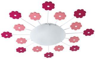 Viki Blommor 63 Cm Plafond/Vegglampe Eglo