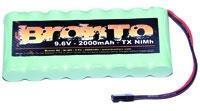 Bronto 9,6V 2000mAh - Bronto TX Pack - Ni-Mh Flat