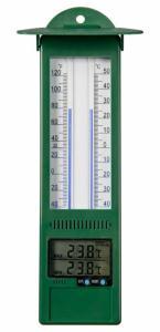 Nature Utendørs digitalt termometer min-maks 9,5x2,5x24 cm