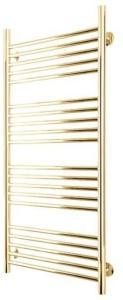 TVS Top håndkletørker, vannbåren varme,  1158x532 mm, gull