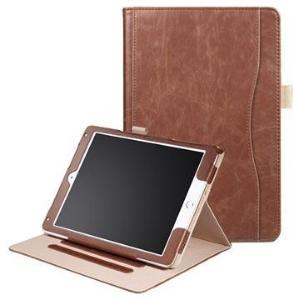 Retro Smart Folio-etui - iPad 9.7, iPad Air 2, iPad Air - Brun