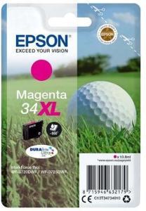 Epson 34XL - XL - magenta - original - blækpatron - Blekkpatron Rød 2585502