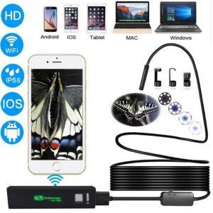 Stivt Trådløst Inspeksjonskamera 1200P HD WiFi Endoskop8 LED - 10 Meter